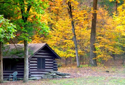 Beavers Bend State Park in Broken Bow features historic cabins built by the Civilian Conservation Corps.