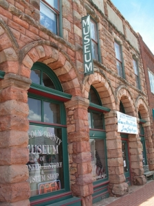 The Lincoln County Museum of Pioneer History can be found in a striking century-year-old building along Manvel Avenue in Chandler.