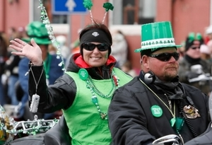 Watch as decorated floats, animals, antique tractors, civic clubs, clowns, motorcycles and more make their way down the street during the annual Oklahoma City St. Patrick's Day Parade in Oklahoma City.
