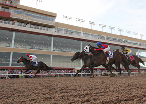 Thoroughbred season creates heart-pounding thrills for horse racing enthusiasts at Remington Park Racetrack & Casino in Oklahoma City.