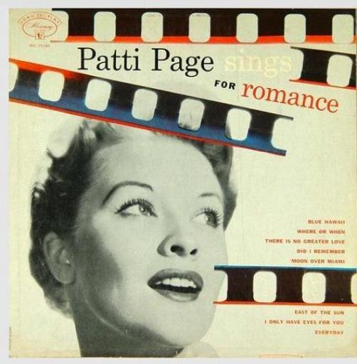 Patti Page Sings Songs for Romance