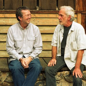 JJ Cale and Eric Clapton at Paramount Ranch.  The two were good friends and Clapton has described JJ as a fantastic musician and his hero.