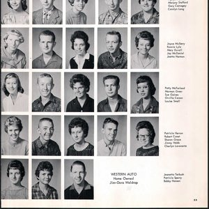 Jimmy Webb smiles for his yearbook photo at Laverne High School.