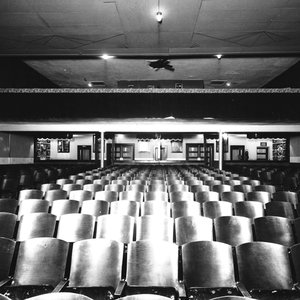 A view of the seating inside the Aldridge Theatre in the Deep Deuce district of Oklahoma City.  The Aldridge Theatre was located at 303-305 NE 2nd Street, just slightly west of where the Deep Deuce Grill stands today.
