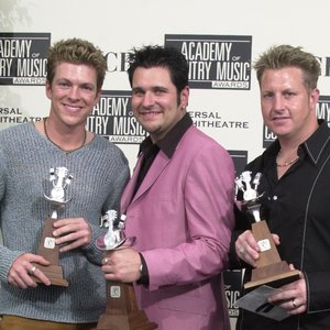 Rascal Flatts at the Academy of Country Music Awards Show held May 9, 2001 at the Universal Amphitheatre in Los Angeles, CA