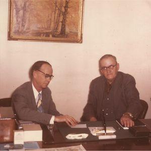 Albert Brumley & Dr. Caldwell