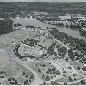 Zoo Amphitheater in 1947.