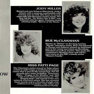 Jody Miller was one of the many celebrities who performed at the Oklahoma Diamond Jubilee Statehood Celebration in 1982