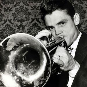 Chet Baker playing trumpet.