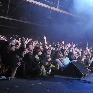 The crowd at Cain's Ballroom in Tulsa rocks out to a live performance from Ghostland Observatory.