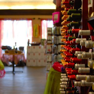 Girls Gone Wine in Broken Bow allows visitors to taste, select, make and bottle their own wine.