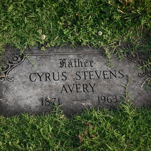 Cyrus Stevens Avery, better known as the Father of Route 66, is buried at Rose Hill Cemetery in Tulsa.