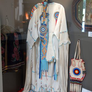 The Standing Bear Museum in Ponca City houses artifacts and artwork from the tribes of the area.