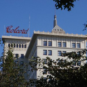 The Colcord Hotel is a boutique hotel that occupies an historic building in downtown Oklahoma City.