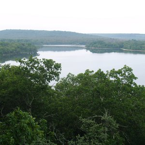 Dripping Springs Lake near Okmulgee.