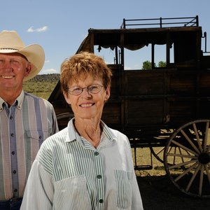 Bob and Jane Apple have opened Hitching Post Lodging & Ranch in Kenton for those who want to have an authentic ranch experience. Ride horses, stay in their ranch home and even help with ranch chores if you want. They can also help you explore the Black Mesa area.