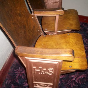 The H&S Theatre in Chandler, which opened in 1926, still has some of its original seats.