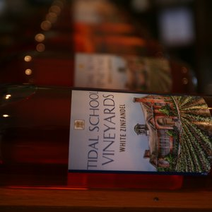 After enjoying a tasting, you can purchase your favorite Tidal School wines in the tasting room gift shop.