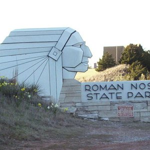 Roman Nose State Park, near Watonga, is a popular getaway with activities for the entire family.