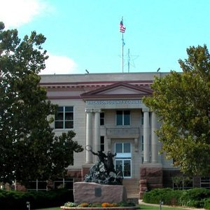 Jackson County Courthouse.