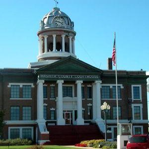 Washita County Courthouse.