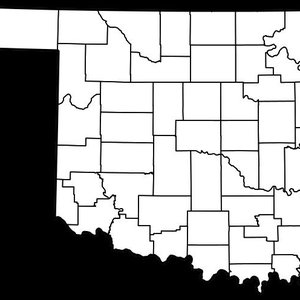 Cimarron County in the panhandle of Oklahoma.