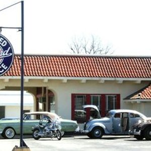 The old Afton Station, situated along Route 66 in Oklahoma's northeast Green Country, has been fully restored.
