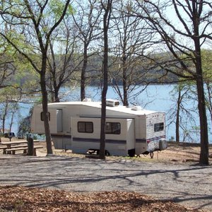 The Cypress Row campground at Greenleaf State Park in Braggs is a great place to RV camp.