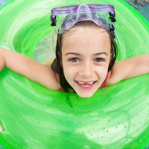 Chill at one of Oklahoma's many water parks to stay cool during the hot summer months.  From wave pools to lazy rivers and wading pools for tiny tots, the whole family will find hours of fun.