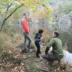 Enjoy getting back to nature anytime of the year at Beavers Bend State Park.