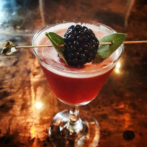 The mixologists at Stag Lounge in Oklahoma City utilize fresh ingredients to craft special cocktails for their seasonal menu.