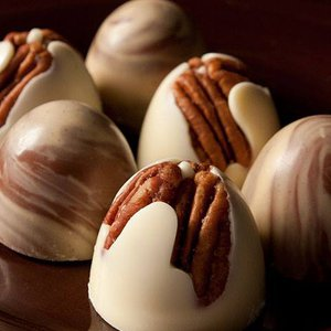 Display your passionate feelings with chocolates like dome truffles from Glacier Bean to Bar in Tulsa.