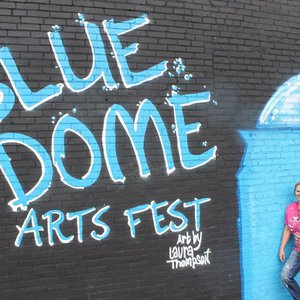 Explore Tulsa districts like the Blue Dome Entertainment District during the annual three-day Blue Dome Arts Festival for a weekend spent supporting local arts.