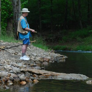 Broken Bow Lake at Beavers Bend State Park is a great place to cast your line for trout, smallmouth bass and more.