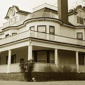 The Stone Lion Inn Bed & Breakfast in Guthrie was built in 1907.