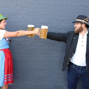 Enter the stein-holding contest at Cabin Boys Brewery's Oktoberfest party in Tulsa.