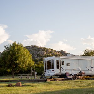 Great Plains State Park in Mountain Park offers stunning views from its RV campsites.