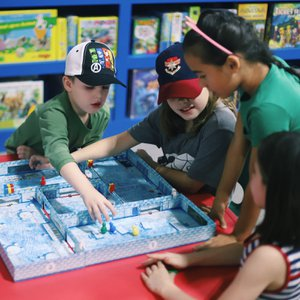 Introduce the kids to the magic of tabletop gaming at the family-friendly PB&J Games in Edmond.