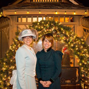 Dress up in your Victorian best at the Territorial Christmas Celebration in Guthrie.