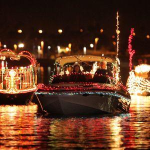 Christmas Boat Parade.