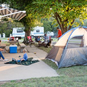 Camp out with the family at Boiling Springs, which offers RV and camping sites. Photo by Lori Duckworth.