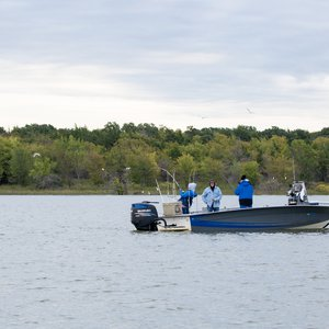 Embark on a fishing excursion at Lake Texoma State Park in Kingston. Photo by Lori Duckworth.
