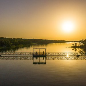 The stunning sunsets alone make Lake Murray State Park a year-round destination in southern Oklahoma.
