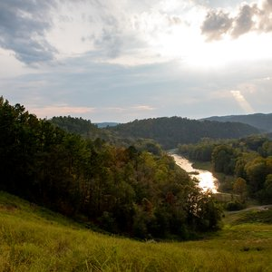 Known for its rolling hills and rugged terrain, Beavers Bend State Park is an outdoor lover's paradise. Photo by Lori Duckworth/Oklahoma Tourism.