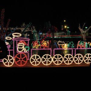 Christmas In The Park.Christmas In The Park Travelok Com Oklahoma S Official