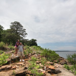 Hike along the walking trails at Sequoyah Bay State Park to discover scenic views of Fort Gibson Lake. Photo by Rebekah Morrow.