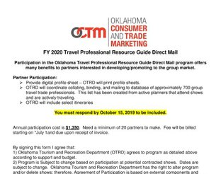 Travel Professional Resource Guide Direct Mail