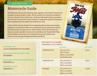 Motorcycle Guide Rate Card