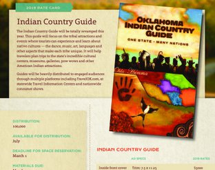 Indian Country Guide Rate Card
