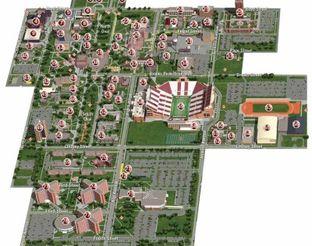 View OU Campus Map